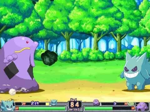 Pokemon Type: Wild - Gengar (Hard Mode) [With All Pokemon ...