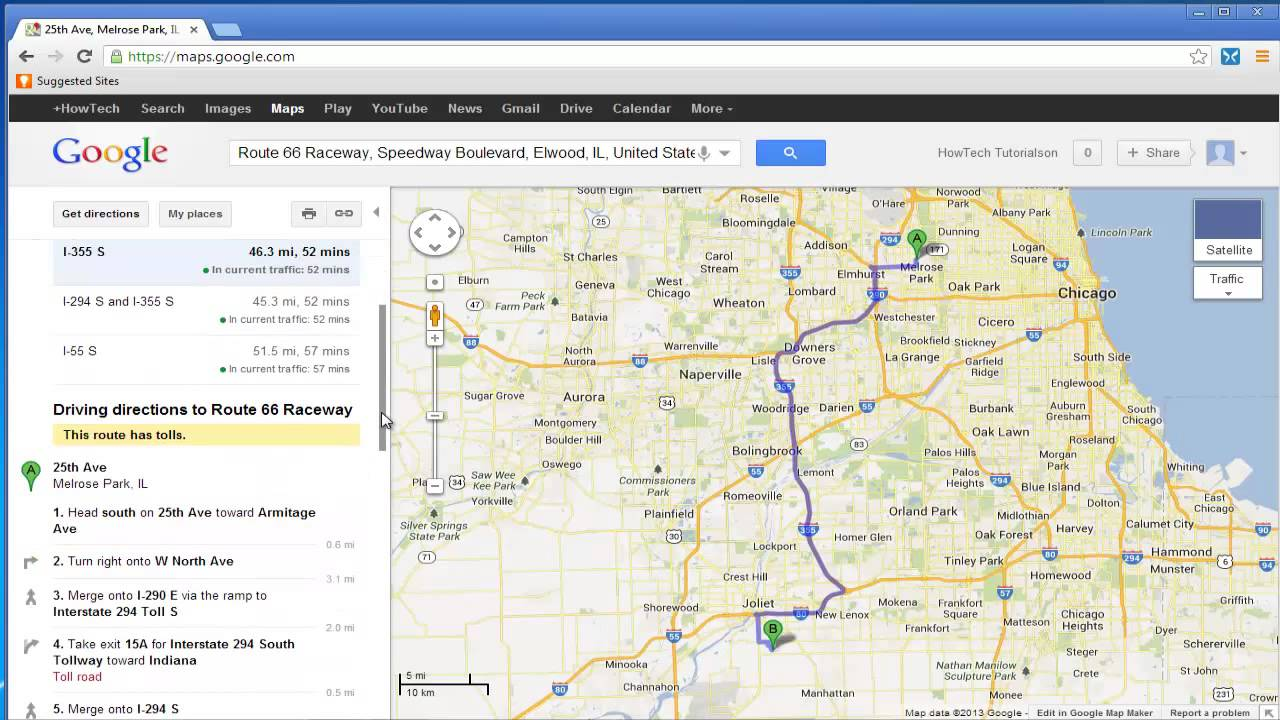 How to Map a Route on Google Maps