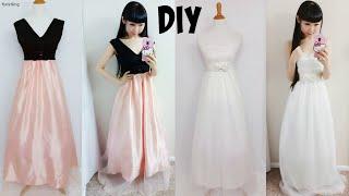 Download Video DIY Easy Wedding Dress & Prom Dress from Scratch (Floor Length)  DIY Formal Dress MP3 3GP MP4