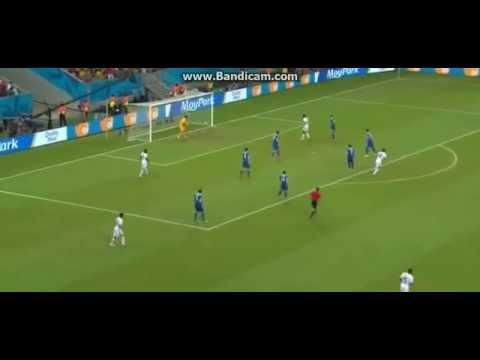 Bryan Ruiz Goal vs Greece  Costa Rica vs Greece 1-0 29/06/2014