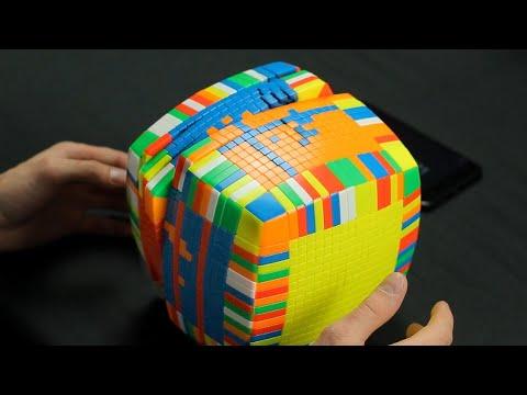 Как собрать кубик рубика 17х17 видео