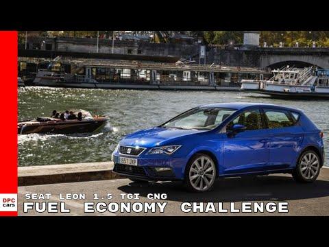 SEAT Leon 1.5 TGI CNG Fuel Economy Challenge