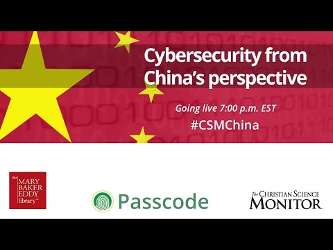 Cybersecurity from China's Perspective