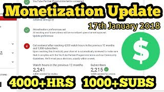 Channel Under Review | New Update | Monetization Not Enabled (Adsense) | 4K+HRS | 1K+SUBS