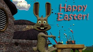 Happy Easter! The Cutest Easter Bunny Song / Easter Song