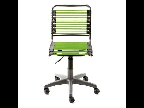 The Best Green Euro Style Bungee Bungie Office Chair Container Store