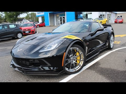 2017 Chevy Corvette Grand Sport Coupe 3LT (Automatic): In Depth First Person Review