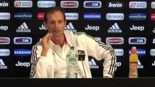 Allegri si sfoga su Dybala - Giornata 9 - Serie A TIM 2015/16