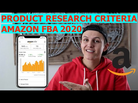 2019 Amazon FBA Product Research - NEW Product Research Criteria!