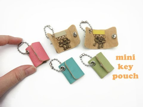 DIY Miniature Doll Mini Key Pouch Purse