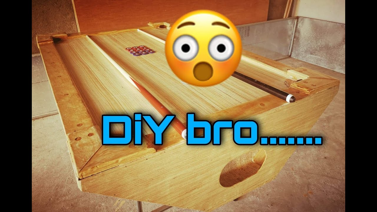 How to DIY || Looks Like A Filipino Pool Table a  simple one… 😲🙂