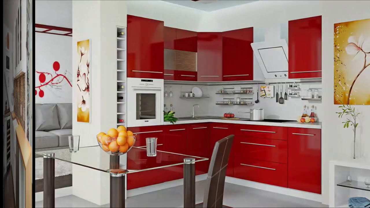Cocina peque as modernas encantador youtube for Cocinas modernas para departamentos