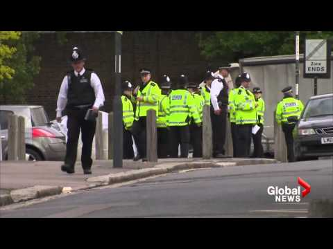 Soldier killed in London