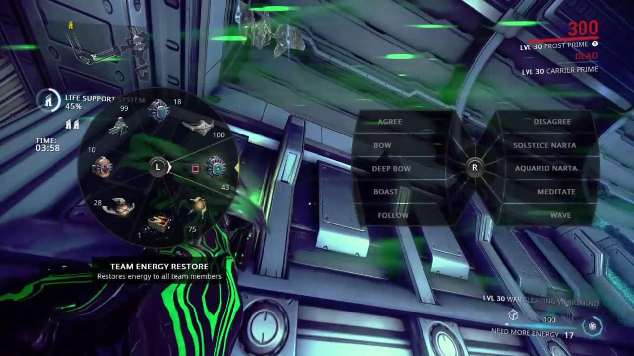 Warframe gift from Tennocon solo! Level 9999 Corpus! - YouTube
