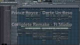 Prince Royce - Darte Un Beso FLP (FL Studio | Complete Descarga Download Remake)