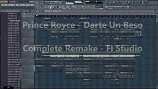 Prince Royce - Darte Un Beso FLP (FL Studio | Complete Descarga Download Remake)