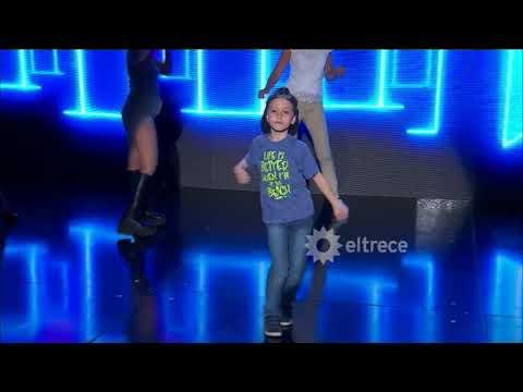 El niño que se animó a bailar