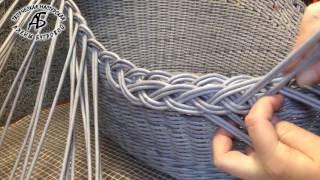 Плетеная загибка