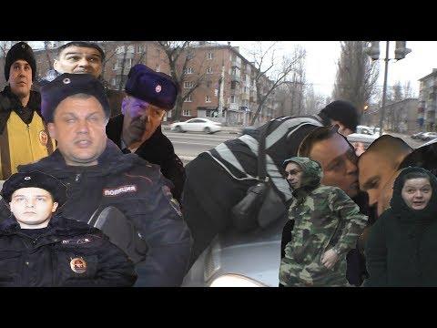 ОПАСНЫЙ ВОРОНЕЖ- автохамы давят людей, полиция задерживает потерпевшего, гаишники отпускают пьяных
