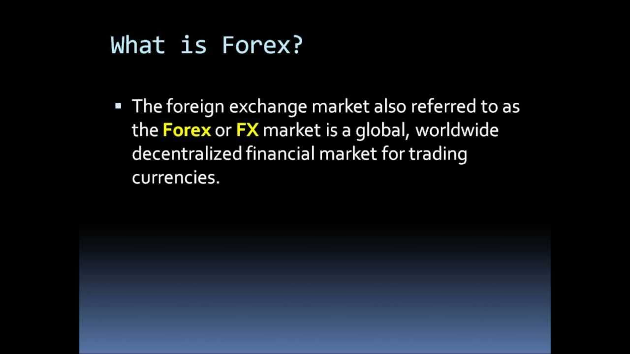 Forex Introduction Online Currency Trading Fx Learn To Trade Free