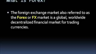 Forex Introduction | Online Currency Trading | FX Learn to Trade Free