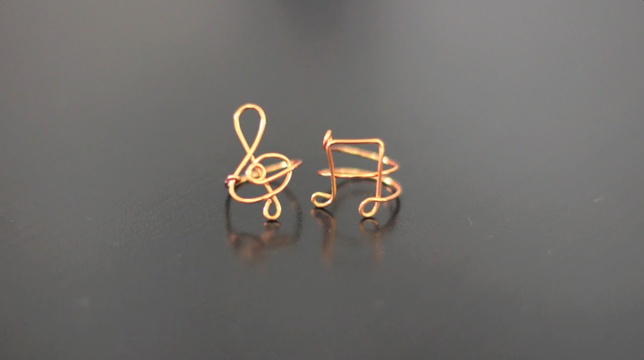how to make wire rings youtube