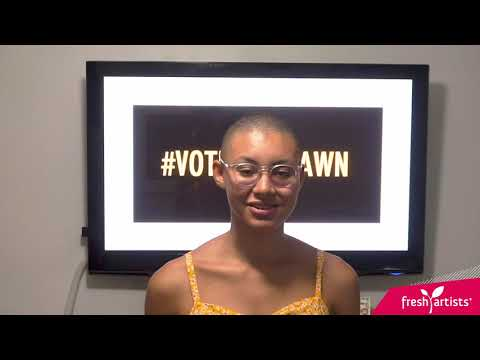Teen Olivia Explains the Vote That Jawn Art Contest!