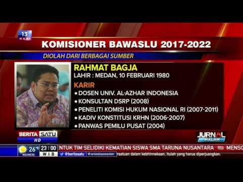 5 Nama Komisioner Bawaslu 2017-2022