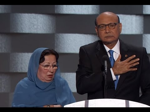 Khizr Khan full Speech at 2016 Democratic National Convention