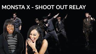 MONSTA X - SHOOT OUT (RELAY VERSION) MV REACTION