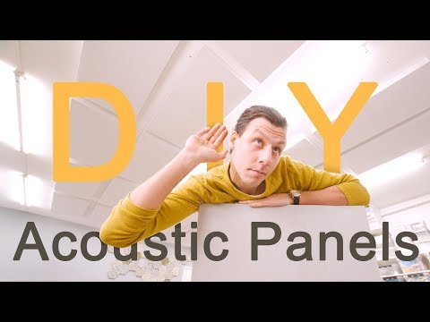 Making Super Effective Sound Absorbing Panels - DIY Acoustic Panels