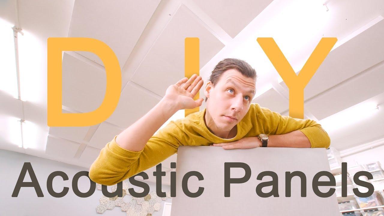 Making Super Effective Sound Absorbing Panels - DIY ...