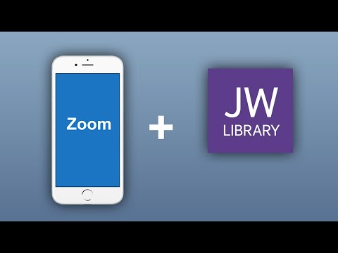 (English) How To Attend Congregation Meetings In Zoom From IOS/Android