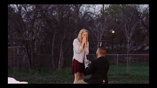 Ben's Beautiful Surprise Proposal to Brennan | Dallas Wedding Videography