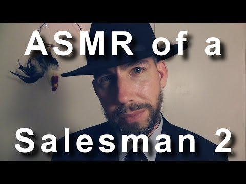 ASMR of a Salesman 2 [ Binaural ]