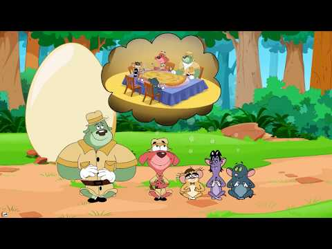 Rat-A-Tat 'Lost Jungle Slime Clay Angry Dogs Kidnapper Chase' Chotoonz Kids Funny Cartoon Videos