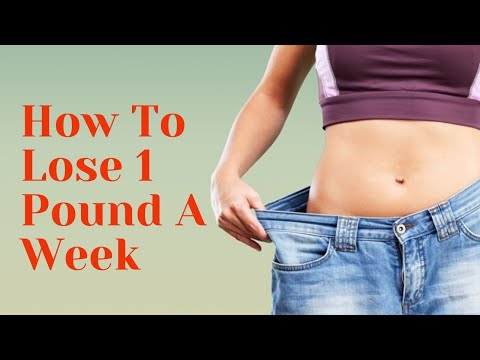 how-to-lose-1-pound-a-week