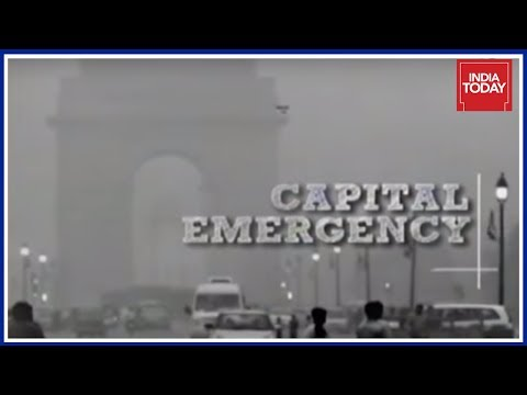 Capital Emergency: Heavy Pollution Chokes Delhi