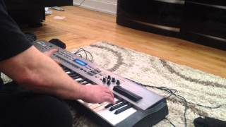 The terminator theme synth
