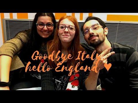 GOODBYE ITALY, HELLO ENGLAND ♥   DAILY VLOG