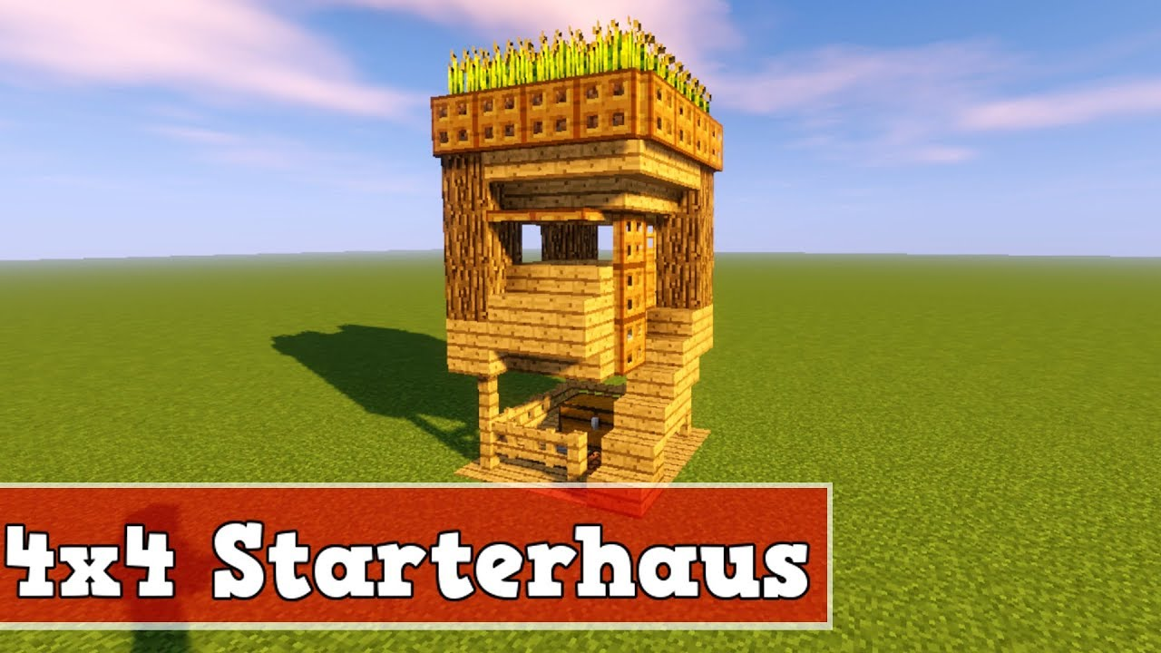 wie baut man ein kleines haus in minecraft minecraft kleines starterhaus bauen deutsch youtube. Black Bedroom Furniture Sets. Home Design Ideas