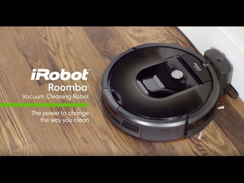Overview - iRobot Roomba 900 Series - YouTube