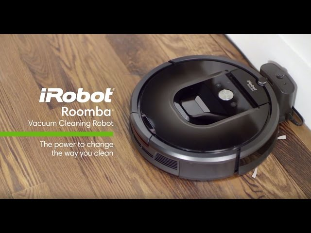 Clean Floors With The Press Of A Button Roomba 900 Series Irobot Youtube