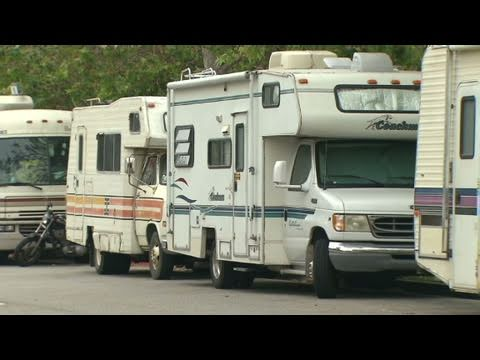RV living on the streets of L.A.