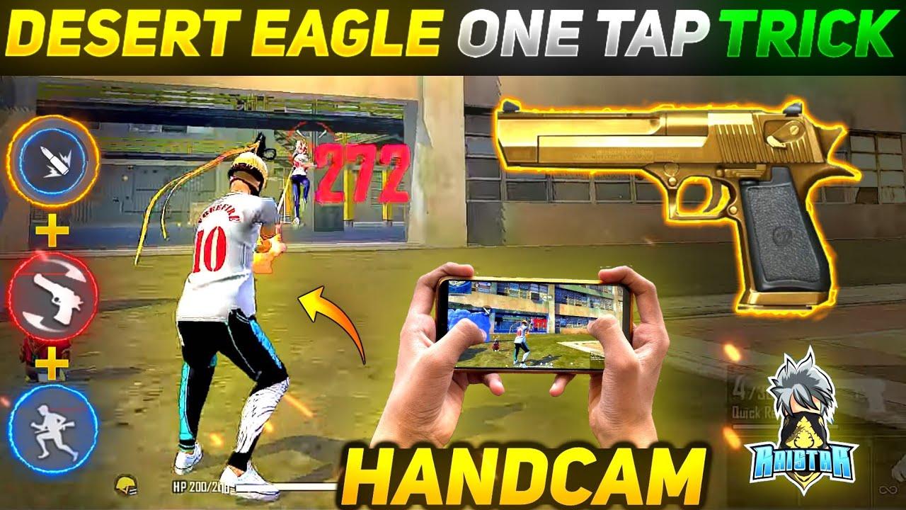 Desert Eagle Secret One Tap Headshot Trick 🔥| 100% Working | Desert Eagle Headshot Trick |-Free Fire