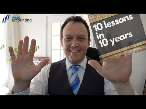 PODCAST 10 Lessons in 10 Years