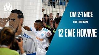 OM 2-1 Nice La victoire depuis les tribunes   12 EME HOMME