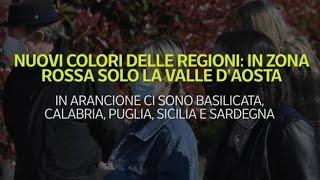 I nuovi colori delle regioni: in zona ...