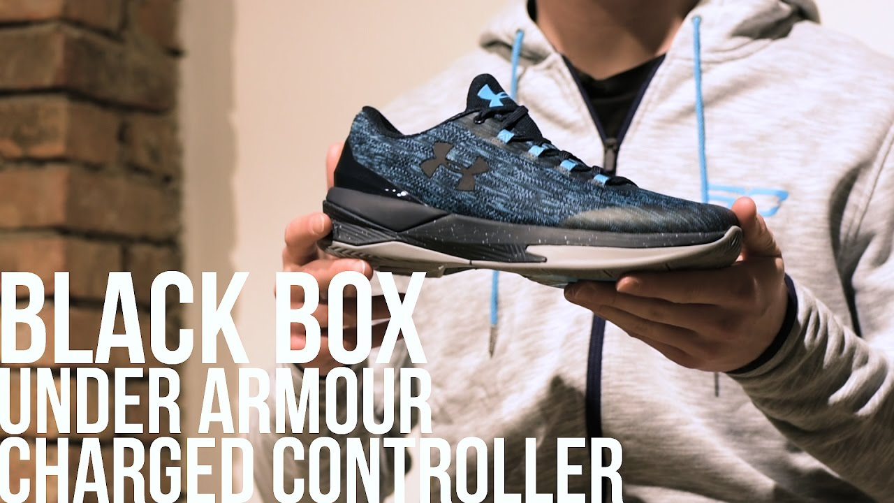 fe71a1528a86 BLACK BOX  PRESENTAZIONE UNDER ARMOUR CHARGED CONTROLLER - YouTube