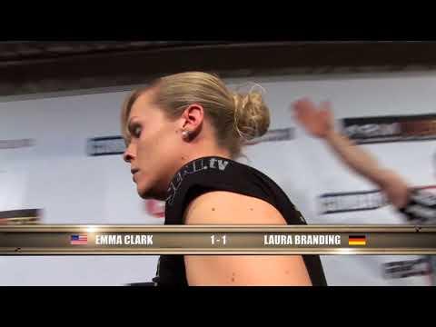 Arm Wars | Armwrestling | Clark USA v Branding GER